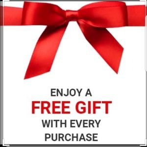 Free gifts with Purchase
